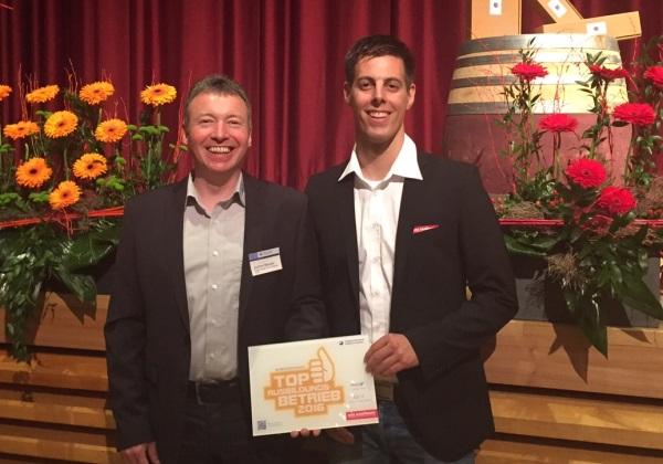 Auszeichnung zum Top Ausbildungsbetrieb